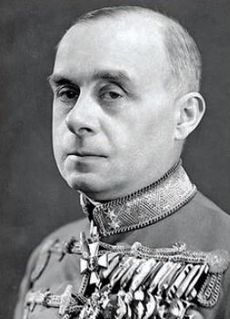 Döme Sztójay Hungarian-Serb politician executed for war crimes