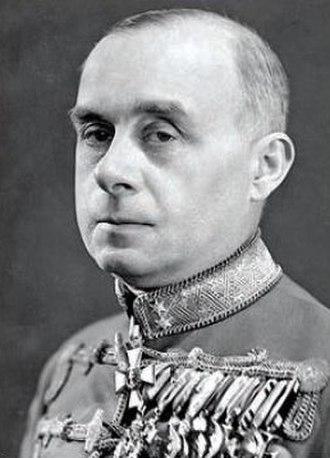 Döme Sztójay - Image: Sztojay official portrait 1944
