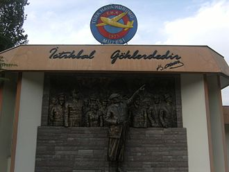 Museum of Turkish Aeronautical Association - THK Museum entrance