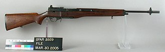 M14 rifle - Experimental T47 rifle