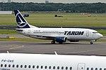 TAROM, YR-BGB, Boeing 737-38J (28476706275).jpg