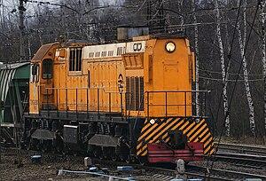 """""""тепловоз ТЭМ-7А с аналогом автомобильной системы  """"круиз-контроль """" введен в эксплуатацию на Бачатском разрезе."""