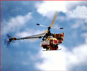 International Aerial Robotics Competition - TU-Berlin helicopter-based aerial robot—winner of third mission in 2000