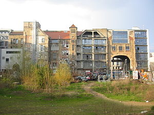 Kunsthaus Tacheles - Tacheles from the rear