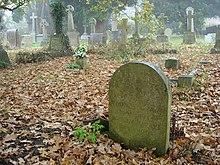 La lapide sulla tomba di Nick Drake