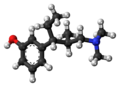 Tapentadol molecule ball.png