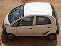 Tata nano car at Kommadi.JPG