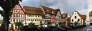 Tauberbischofsheim - The marketplace.
