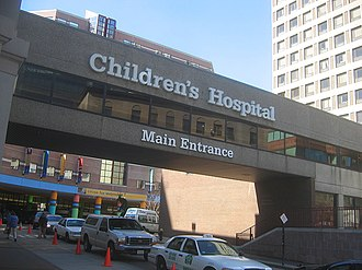 Boston Children's Hospital - Longwood Avenue main entrance