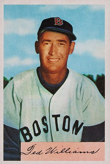 Ted Williams Ted Williams 1954 Bowman.jpg
