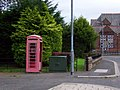 Telephone box, Lockerbie - geograph.org.uk - 1531860.jpg