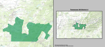 Tennessee's 4th congressional district - since January 3, 2013.