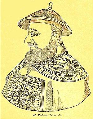 Teodorico Pedrini -  portrait