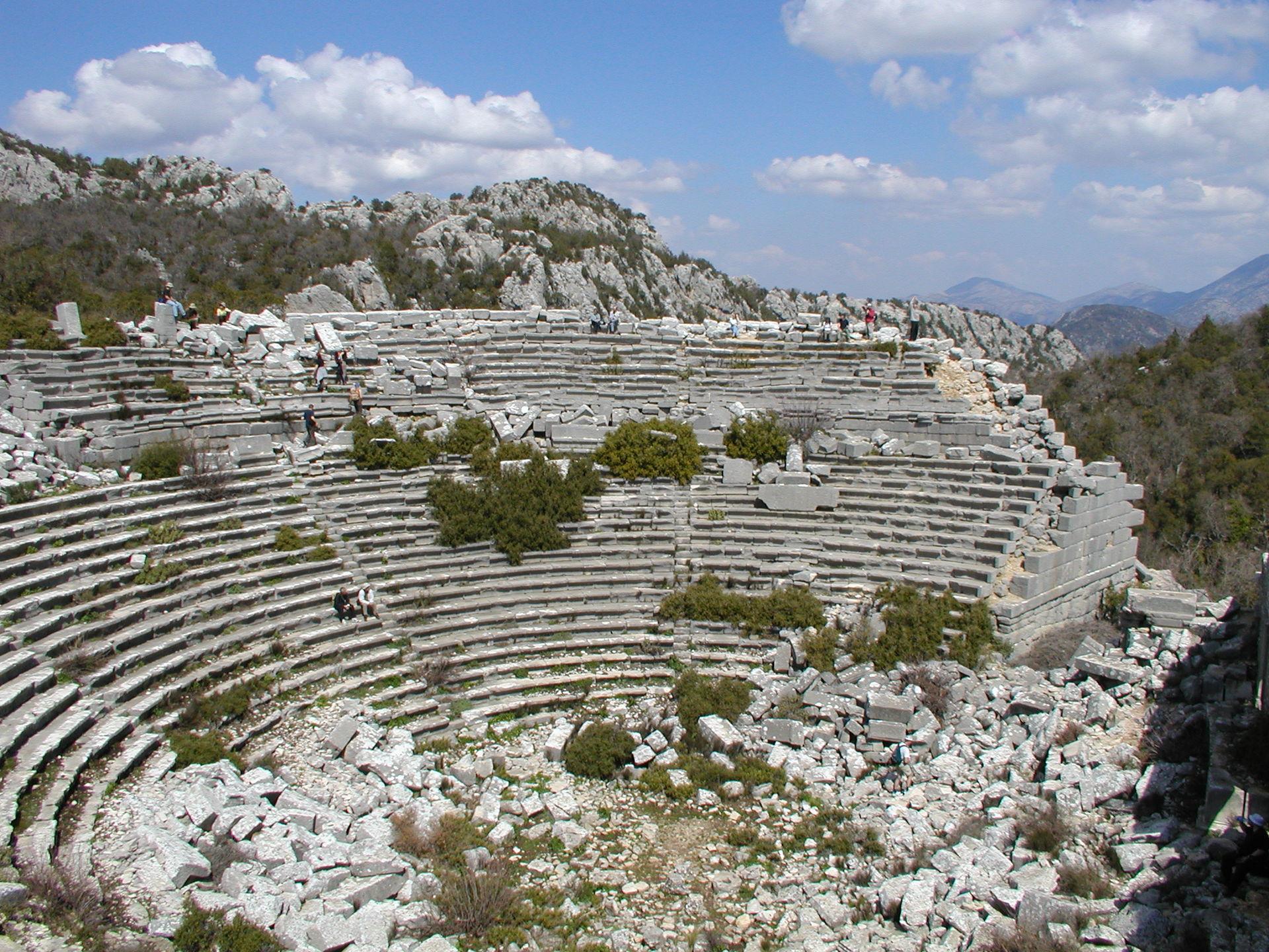 Termessos Theater / Bildquelle: http://bit.ly/ZMbco4