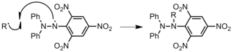 DPPH - Inhibition of polymer chain, R, by DPPH.
