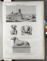 Thèbes. Karnak. Vue et détails des Béliers de l'Avenue du Grand Temple du sud (NYPL b14212718-1268079).tiff