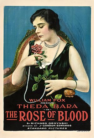 The Rose of Blood - Film poster (1917)