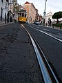 The 28 tram near the Castle of St George.jpg
