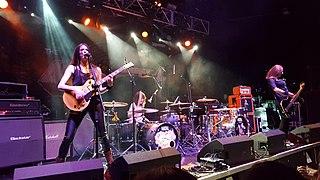 The Amorettes Scottish band