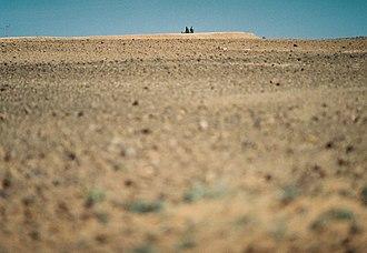 Moroccan Western Sahara Wall - Image: The Berm, Western Sahara