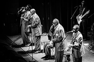 The Blind Boys of Alabama - At Cosmopolite Scene Oslo in 2018.  Photo: Tore Sætre