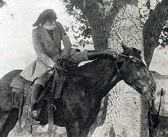 Helen Gibson - The Capture of Red Stanley (1916)