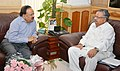 The Chief Minister of Chhattisgarh, Dr. Raman Singh calling on the Union Minister for Health and Family Welfare, Dr. Harsh Vardhan, in New Delhi on July 15, 2014 (1).jpg