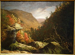 The Clove, Catskills, by Thomas Cole, c. 1826, oil on canvas - New Britain Museum of American Art - DSC09301.JPG
