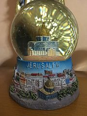 The Dome of the Rock Snow globe.jpg