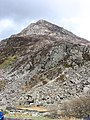 The Enormous Screes of Yr Ole Wen Tower Above Ogwen's Outfall - geograph.org.uk - 239355.jpg
