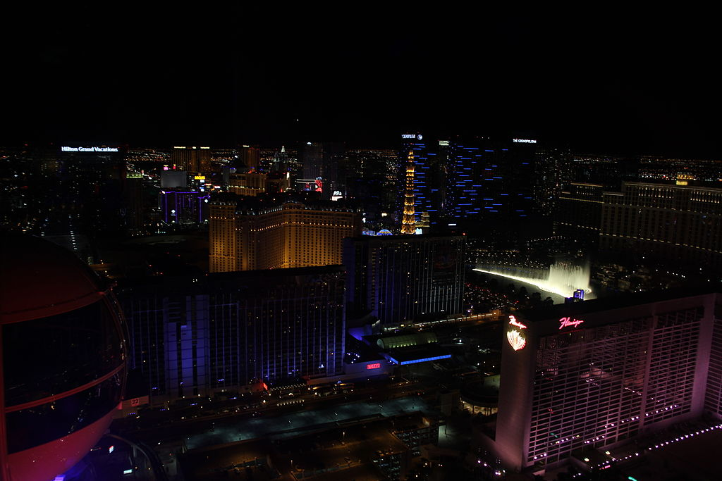 The High Roller - View of the Strip
