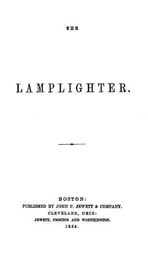 The Lamplighter - First edition title page