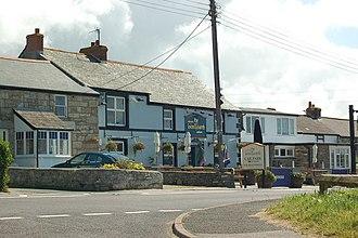 Ashton, Cornwall - The Lion and Lamb public house, Ashton, Breage