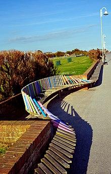 A Part Of Littlehamptonu0027s Longest Bench