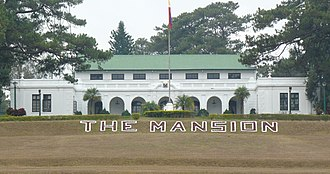 The Mansion (Baguio) - Image: The Mansion Baguio City