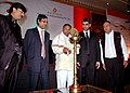 The Minister of State for Railways, Shri K.H. Muniyappa inaugurated Nano Technology in Chemicals & Paints Projects, in Mumbai on February 01, 2010.jpg