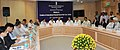 The Minister of State for Urban Development, Prof. Saugata Ray chairing a meeting for creation of a financial hub in New town, Kolkata, West Bengal, in New Delhi on August 23, 2012.jpg