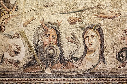 The Oceanus and Tethys mosaic in Zeugma Mosaic Museum The Oceanus and Tethys Mosaic.jpg