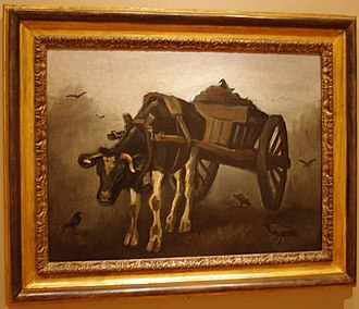 Portland Art Museum - Vincent van Gogh's The Ox Cart