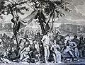 The Phillip Medhurst Picture Torah 46. The wickedness of Noah's generation. Genesis cap 6 v 11. Hoet.jpg
