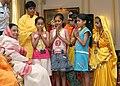 The President, Smt. Pratibha Patil meeting with the Children from Vatsalya Gram, Vrindavan at Rashtrapati Bhavan, in New Delhi on August 25, 2007.jpg
