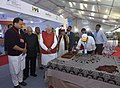 The Prime Minister, Shri Narendra Modi visiting a Skill Exhibition, in Kanpur, Uttar Pradesh (1).jpg