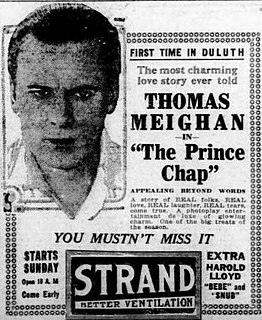 <i>The Prince Chap</i> 1920 film by William C. deMille