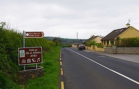 The R523 road entering Athea, Co. Limerick (geograph 3469102).jpg