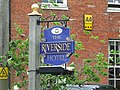 The Riverside Hotel sign - geograph.org.uk - 821964.jpg
