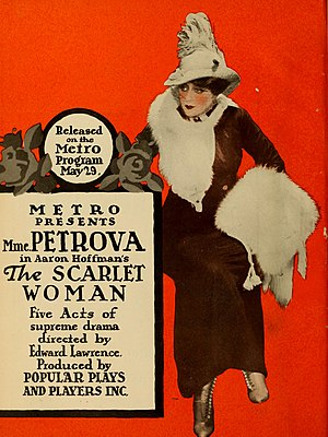 The Scarlet Woman - lobby poster