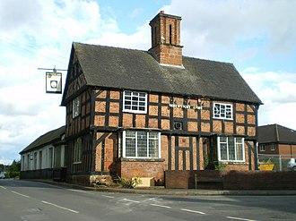 Albrighton, Bridgnorth - Image: The Shrewsbury Arms, Albrighton geograph.org.uk 1414809