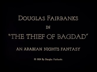 Файл:The Thief of Bagdad (1924).webm