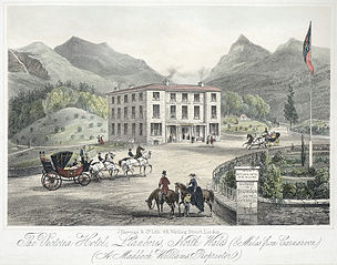 The Victoria Hotel, Llanberis: north Wales (8 miles from Carnarvon) A. Maddock Williams proprietor