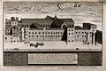 The church and hospital of Savoy, London; bird's-eye view fr Wellcome V0013830.jpg